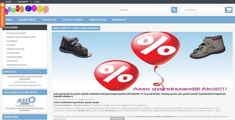 Online cipő rendelés előnyei
